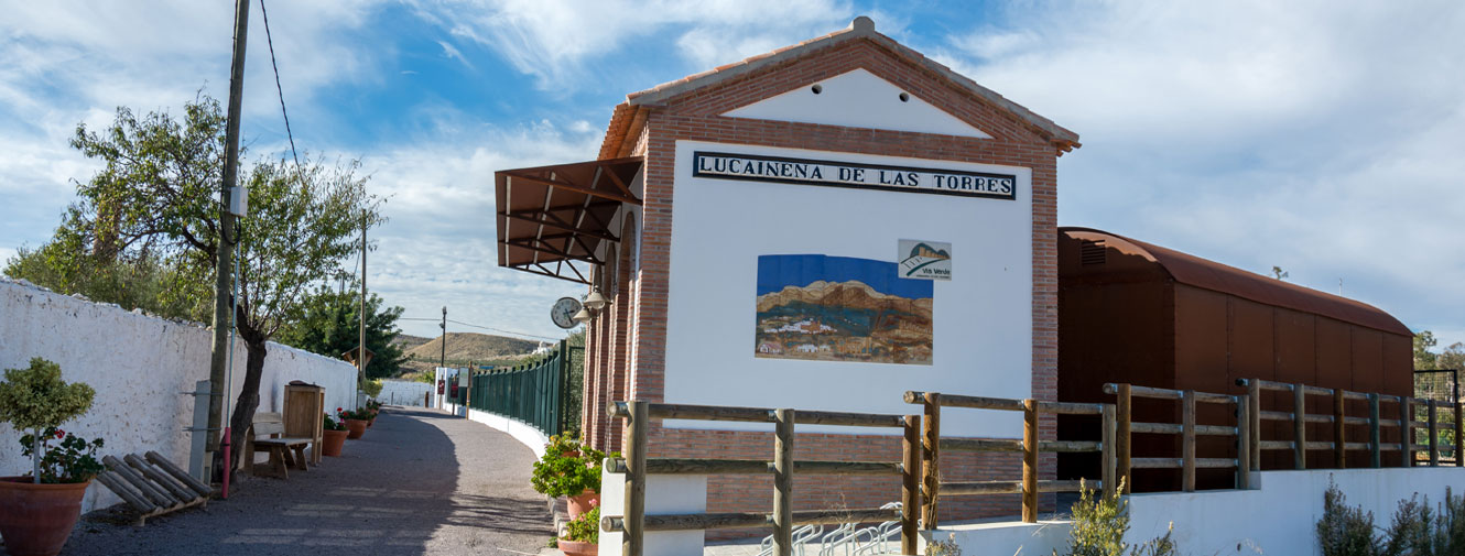 Estación de Lucainena